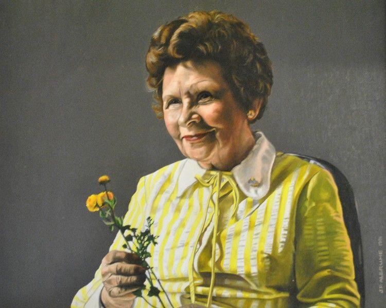 Margaret E. Moul (Painting)